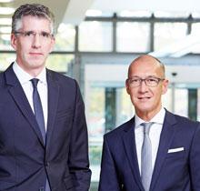 Christian Schäfer (links). Matthias Augulis (rechts)